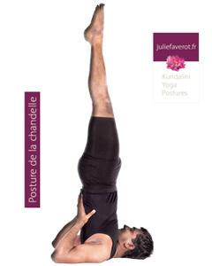 Posture chandelle Kundalini Yoga